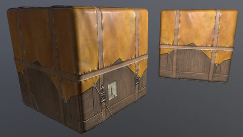 Loot Crate Material - Substance Designer