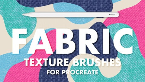 FABRIC TEXTURE BRUSHES FOR PROCREATE