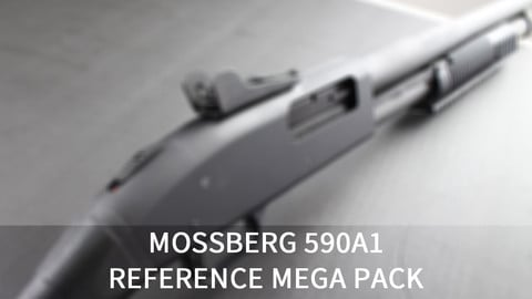 [110+] Mossberg 590A1 Shotgun References Pack