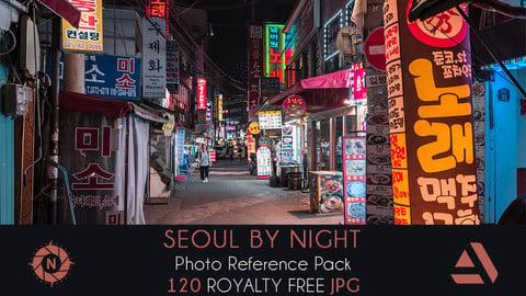 Cyberpunk - Seoul: Photo Reference Pack