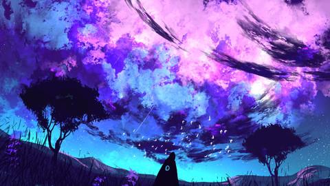 The Milky Way (Digital Print)
