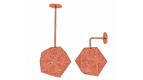Bronze Loft Lamp Set
