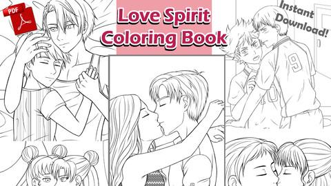 Love Spirit (Coloring Book)