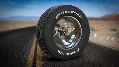 BFGoodrich Tire and Rim