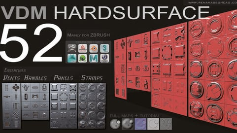 VDM - HARDSURFACE ESSENTIAL ALPHAS PACK