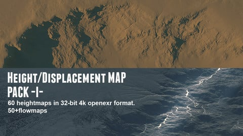 Height/Displacement map pack 1