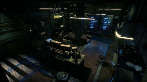 Cyberpunk Apartment - KitBash Hacker Room - Unreal Engine 4