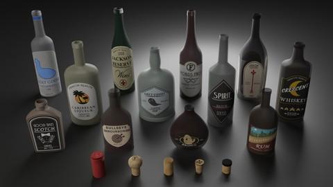 Liquor Bottle Pack