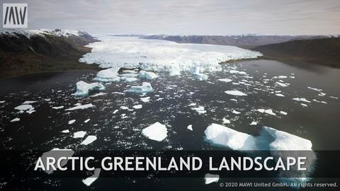 UE4 - ARCTIC GREENLAND LANDSCAPE