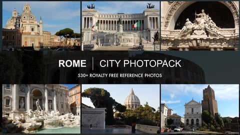 Rome City Photopack