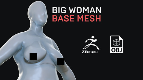 Big Woman - Base Mesh