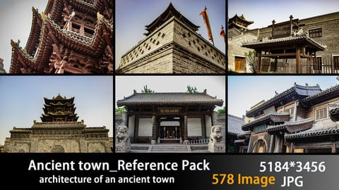 Ancient town_Reference Pack