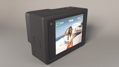 GoPro Hero 8 Black 3D model