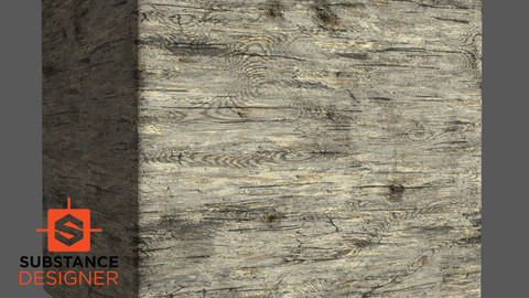 Rough Wood Substance .sbs .sbsar
