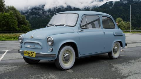 ZAZ-965 Zaporozhets 1961