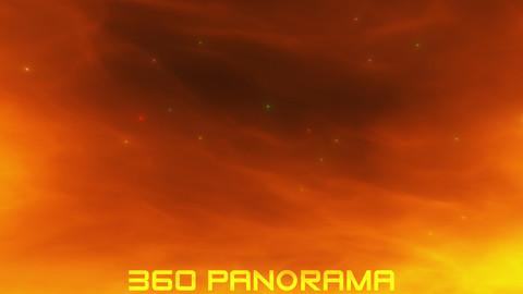 Shimmering Flare Nebula