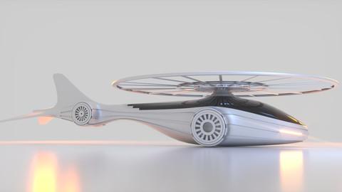 Futuristic Drone A 1
