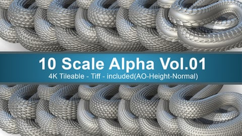 10 Scale Alpha Vol.01
