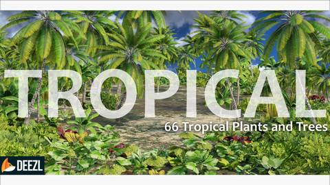 Ultimate Tropical Collection - 66 Trees and Plants