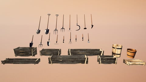 Farmer Tools  [FULL Collection] + Includes All Farmer Tools!
