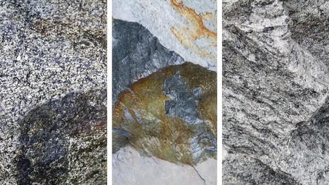 22 Photoscanned Rocks Alphas
