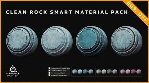 Clean Rock Smart Material Pack