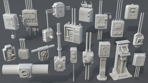 Industrial Switches - 20 pieces