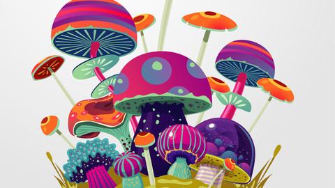 Magic Mushroom Pack