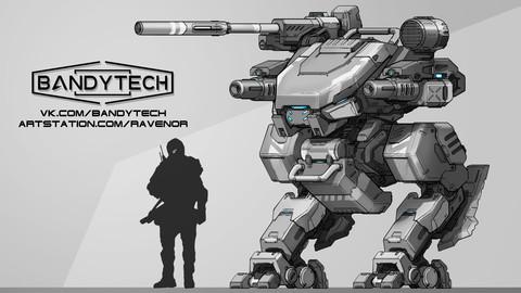 Robot concept-art
