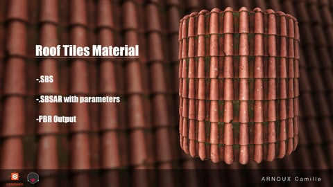 Substance - Roof Tiles Material