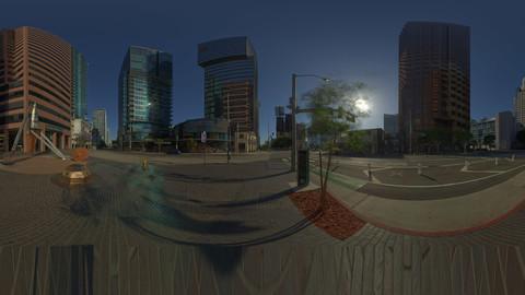 Downtown LA HDRI 20K Unclipped 32bit