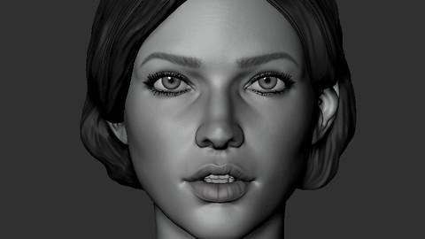 Head Sketch #6