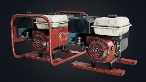Old gasoline generator