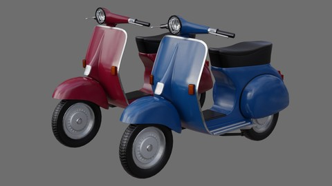 Motor Scooter 1A