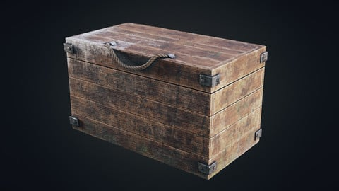 Wooden Loot Box