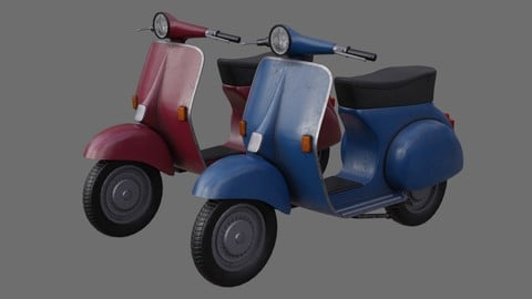 Motor Scooter 1B