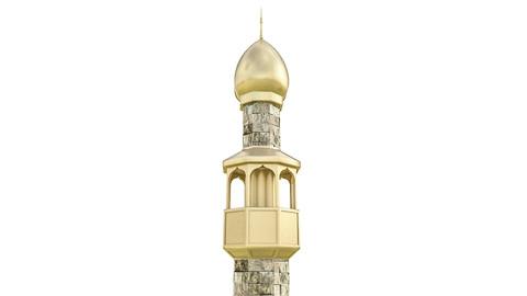 3D Minaret Model