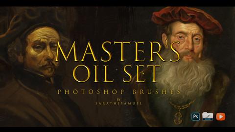 Master's Oil Photoshop Brushes