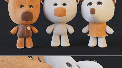 Plush Toys Wiki Mi-Mi Bears 3D model 3D model