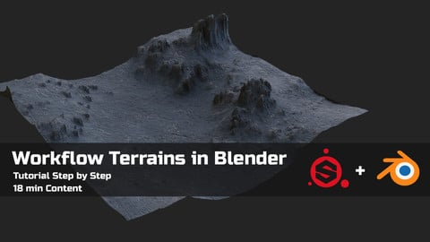 Workflow Terrains in Blender