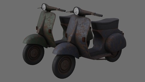Motor Scooter 1C