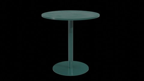 Mesa CafeTable - Model 4670 V-01 Low-poly 3D model