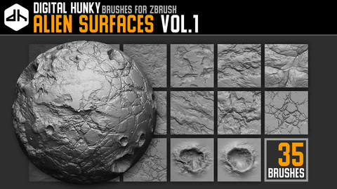 Alien Surfaces Vol.1