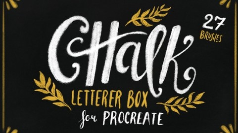 Chalk Letterer Box for Procreate Brushes