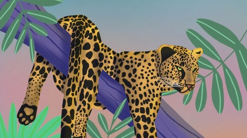 Leopard Digital Illustration