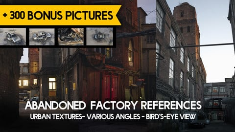 Abandoned Factory Photobashing Reference Pictures