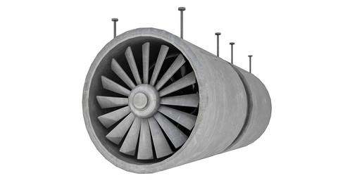 Tunnel Ventilation Fan Model