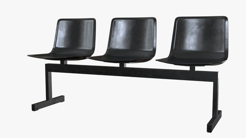 PATO Bench Model-4330 Steel Black