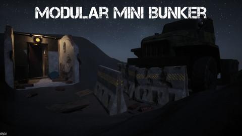 Modular Mini Bunker For UE4