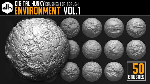 Environment Brushes Vol.1